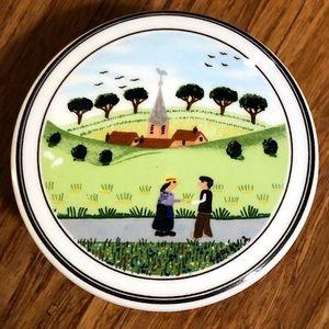 Villeroy & Boch collectible porcelain jewel box